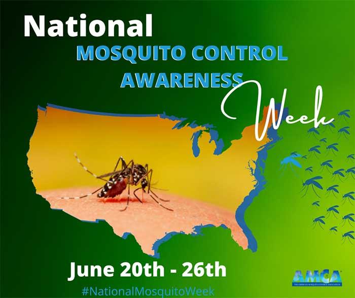 Mosquito Control Awareness Week