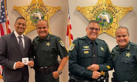 Osceola Sheriff's Office announces two promotions