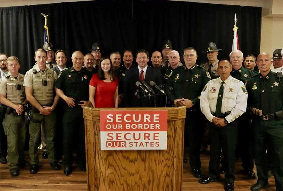 Florida to deploy 50 law enforcement officers to US-Mexico border Monday