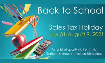 """Florida's back-to-school sales tax """"holiday"""" starts today July 31 – August 9"""