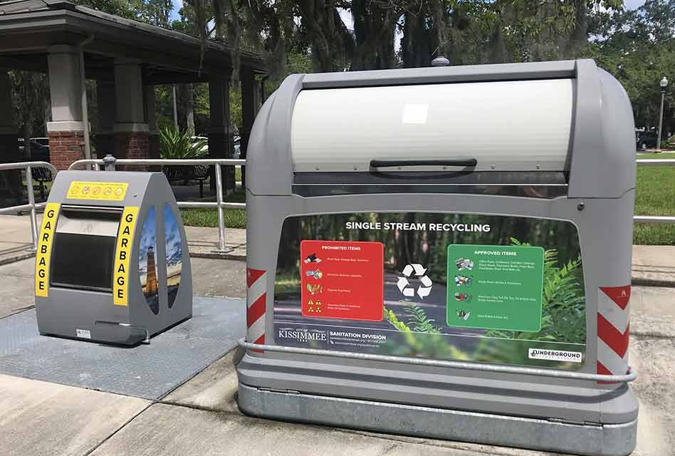 St. Cloud, Kissimmee, and Osceola County working together to improve community recycling