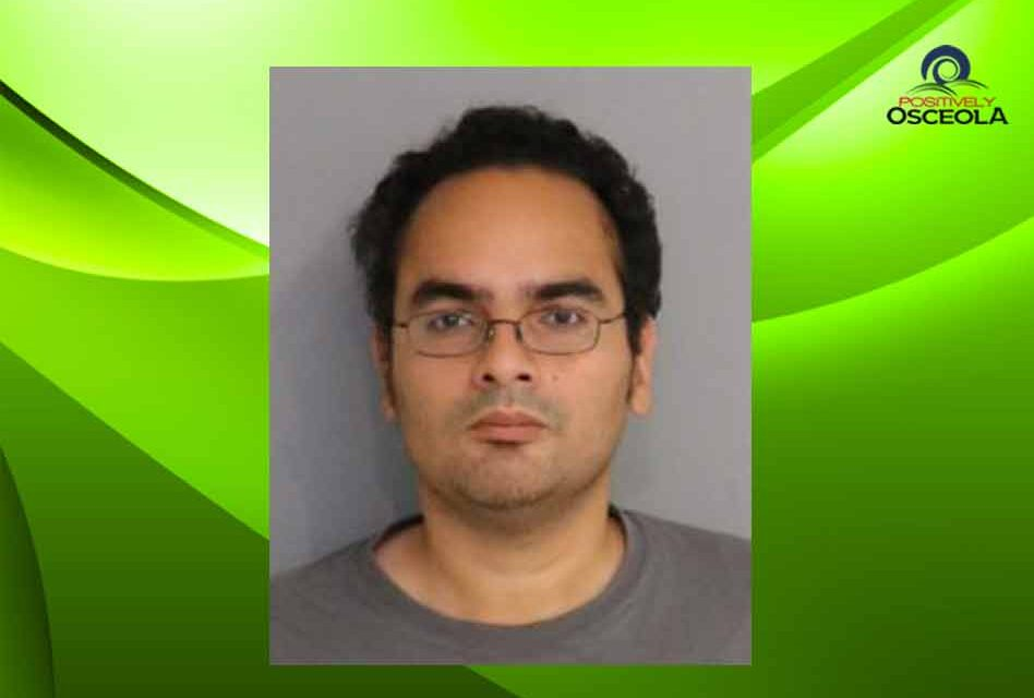 Osceola Deputies arrest Kissimmee man for 10 counts of possession of child pornography