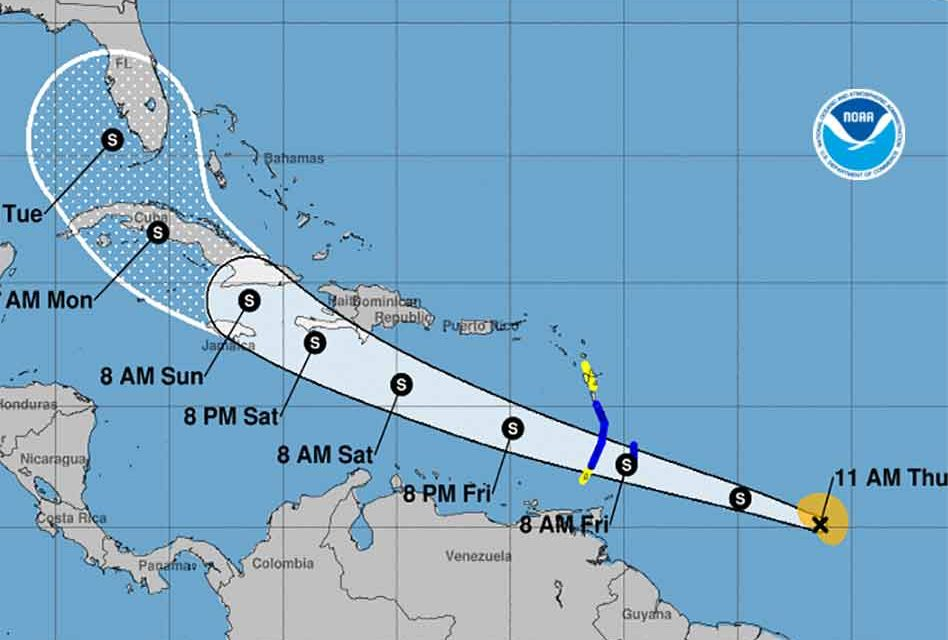Tropical Storm Elsa continues to eye U.S., Central Florida sits in cone of uncertainty