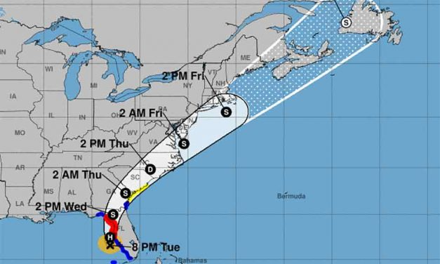 Elsa strengthens into category one hurricane as it approaches Florida