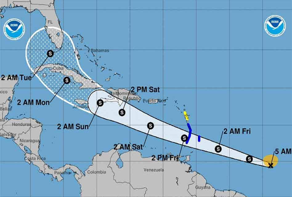 Tropical Storm Elsa forms, becomes fifth named storm of the 2021 season