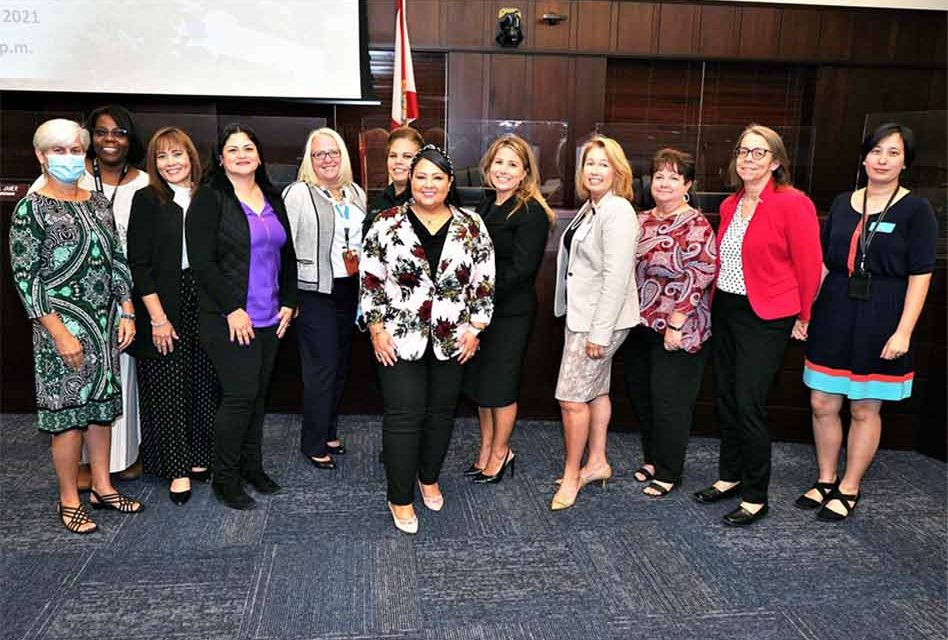 All-women board meeting shows strength of women leadership in Osceola County