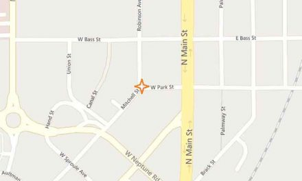 Closure to thru traffic on Mitchell Street near intersection of Robinson Ave. and E. Park Street