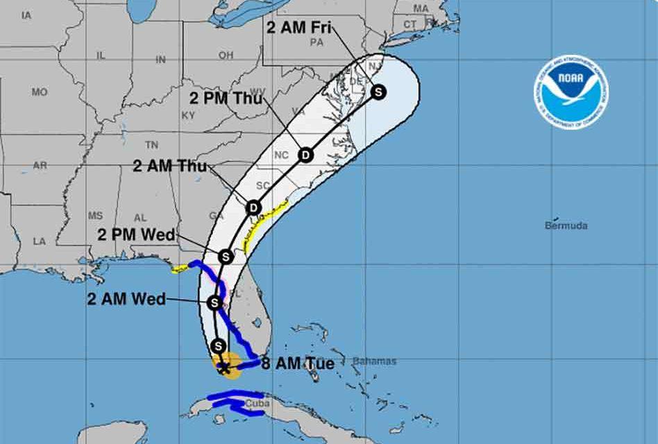 Tropical Storm Elsa could regain hurricane strength before striking Florida