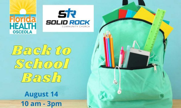 FDOH in Osceola County Partners with Solid Rock Community Church for Back to School Event