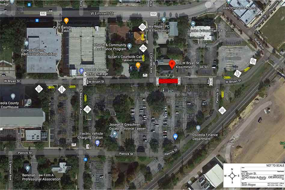 Closure to thru traffic on W Bryan St between S Beaumont Ave and Patrick St starting August 31