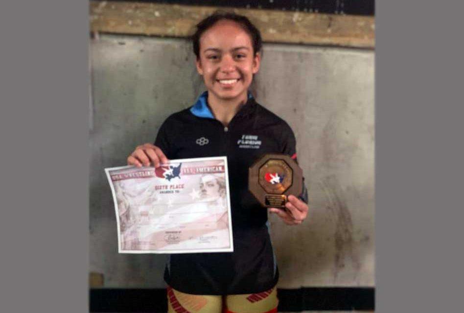Osceola High School's Kealonie Vega Earns All-America Wrestling Status, Hines Wins Schultz Award