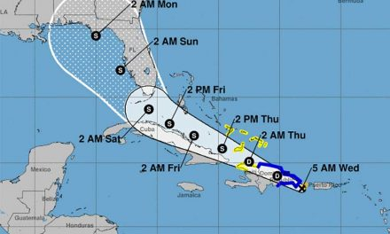 Tropical Storm Fred forms, Florida remains in the cone