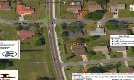 Lane closures at the Country Club Rd and Green Dr intersection this week for sewer project
