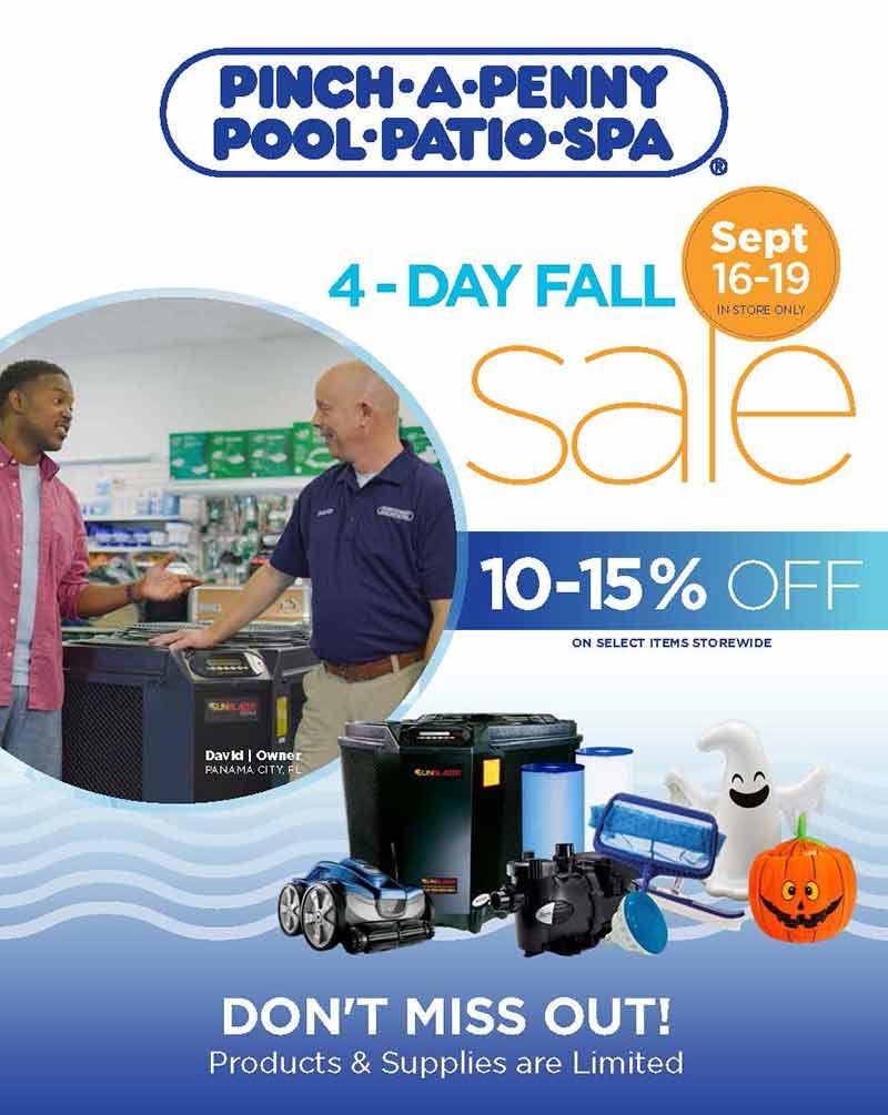 St. Cloud Pinch a Penny Pools Fall Sale
