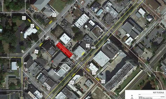 Closure to thru traffic on W Monument Ave. between Church St. and Broadway starting Wed. September 8