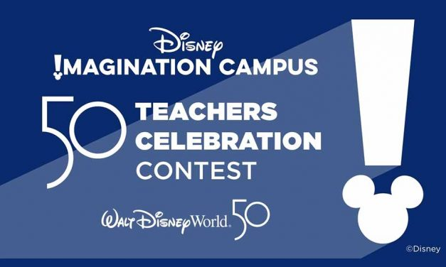 Attention Teachers: You Can Win a Chance to Attend the Disney Imagination Campus 50 Teachers Celebration
