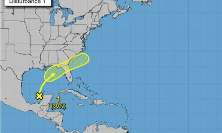 Tropical disturbance on projected path to the sunshine state