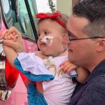 St. Cloud one-year old Nicole is fighting cancer, but felt the love of community on her 1st birthday party