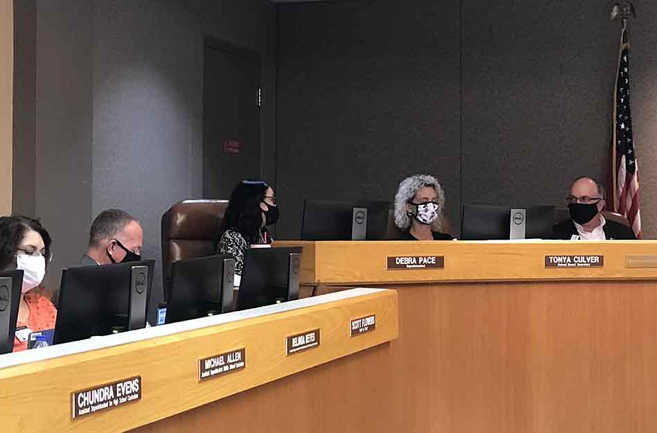Osceola School District Votes to Extend Superintendent Dr. Pace's Contract to 2025, no new mask mandate
