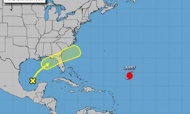 Tropical disturbance still on a path toward Florida this week, heavy rain likely