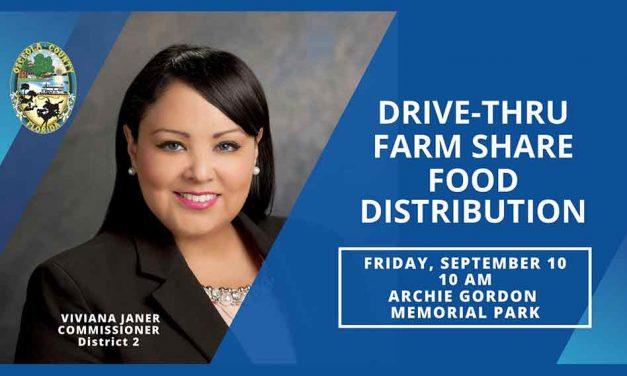 Osceola Commissioner Viviana Janer and Farmshare to host food distribution event Friday September 10