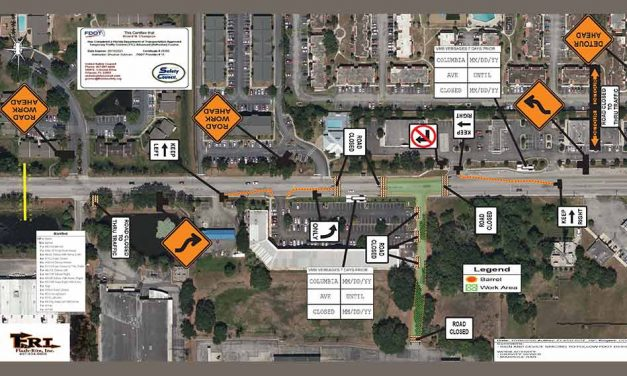 W Columbia Ave to close to thru traffic between Harbor Bay Ct & N Thacker Ave beginning October 21