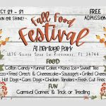 Attention Fair Food Fans: Don't wait until February, your favorites will be at the Fall Food Festival this weekend!