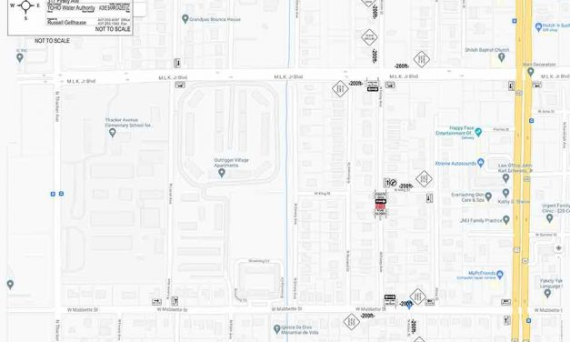 Road closure on N Finley Ave between W Mabbette St and W King St in Kissimmee for water line installation
