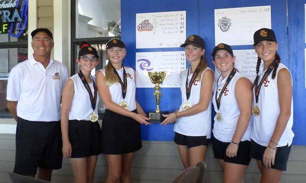 St. Cloud Dominates Girls Orange Belt Conference Golf
