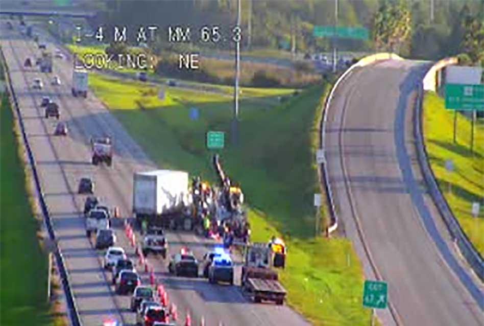 Tuesday morning crash on I-4 near Orange-Osceola county line leaves 34-year-old Kissimmee man dead