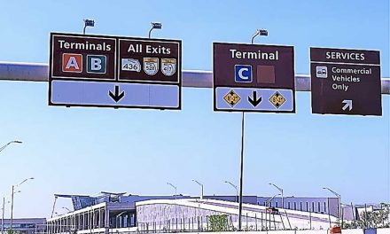 Orlando International Airport adds blue signs as South Terminal C get closer to completion