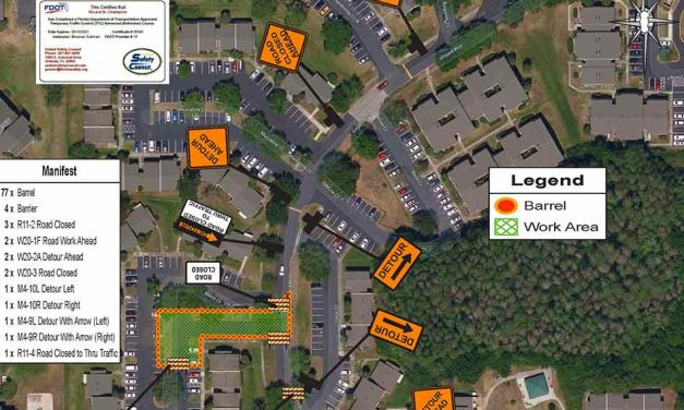 Vineyard Blvd closed to thru traffic at the southern intersection with Welch Ct starting October 4