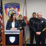 Attorney General Moody Honors Kissimmee Police Officers' Selfless, Dedicated Service with Thin Line Tribute