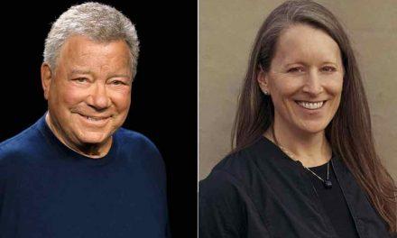 "Star Trek's ""Captain Kirk""  on board next Blue Origin rocket launch"