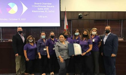 Osceola County Proclaims October as Domestic Violence Awareness Month in Osceola County