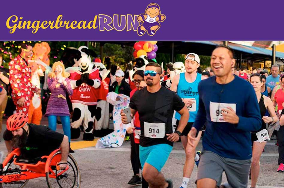 Give Kids The World's Gingerbread Run returning to the Village Saturday, November 6