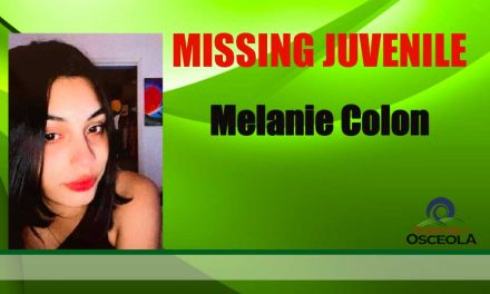 Osceola Sheriff's Office Requesting Public's Help in Finding Missing 17-year-old