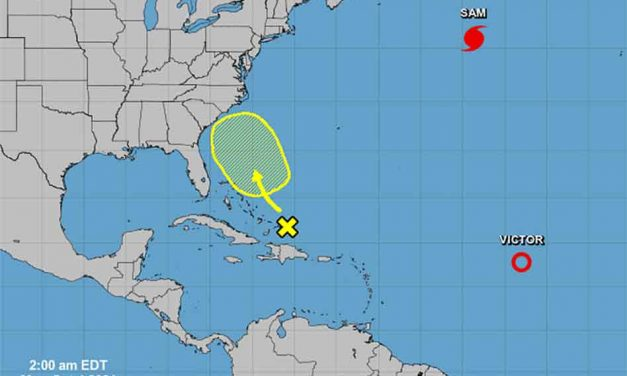 New disturbance near Bahamas projected to slowly develop over next 5 days, NHC says