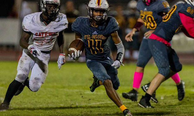 """St. Cloud Gets """"Much Needed"""" Win Over Gateway 22-12, Monday Night"""