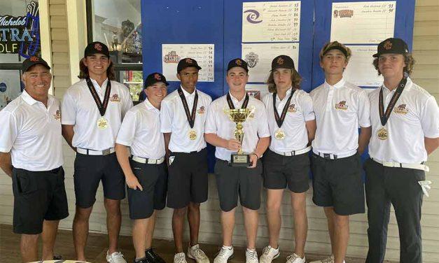 St. Cloud Boys Complete Orange Belt Conference Golf Championship Sweep